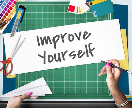 dyi: Improve Ideas Inspiration Creative Concept