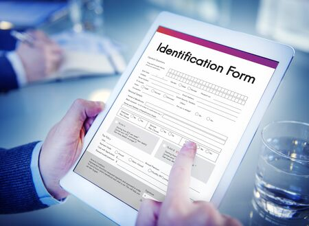 taxpayer: Identification Form ID Taxpayer Document Concept