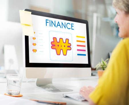 economic interest: Finance Money Currency Cash Concept