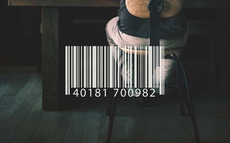 encoding: Bar Code Encoding Decode Shopping Coding Concept Stock Photo