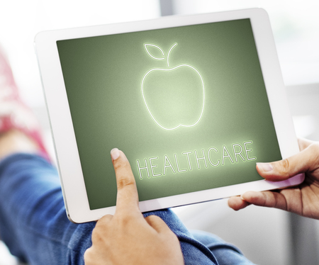 Healthcare concept in a tablet