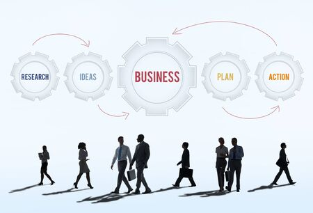 rush hour: New Business Strategy Target Concept