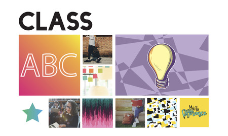 Class concept 写真素材