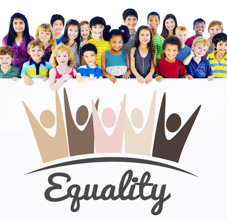 fairness: Equality Fairness Fundamental Rights Racist Discrimination Concept