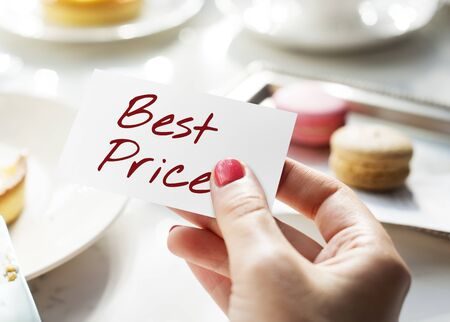 best price: Best Price Offer Promotion Commerce Marketing Concept