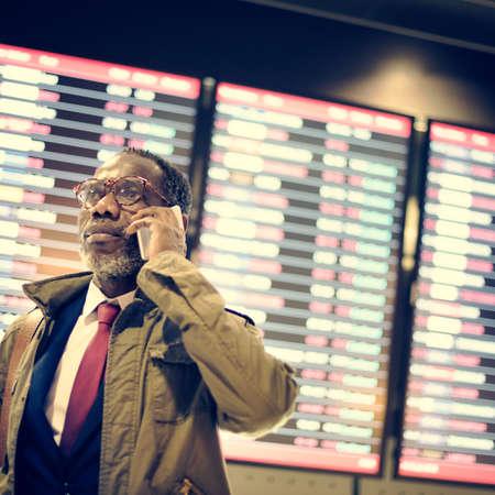 cronograma: Timetable Business Travel Arrival Departure Trip Concept