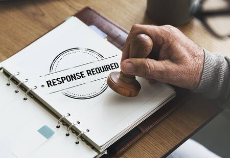 Response Request Required Feedback Information Concept Stock Photo
