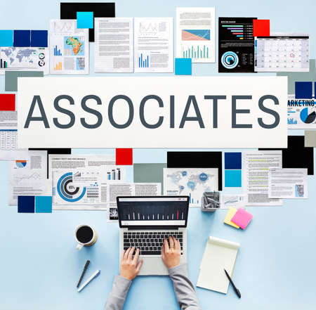 Associates Association Company Organization Concept Stock Photo
