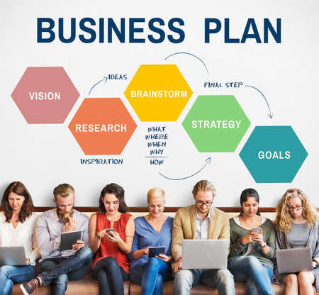 planning strategy: Business Plan Planning Strategy Solution Vision Concept