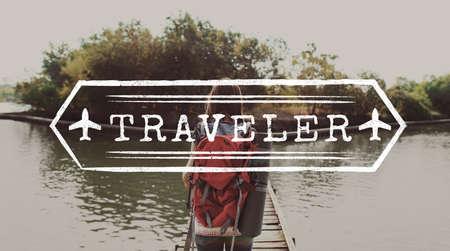 adventure holiday: Adventure Break Holiday Trip Concept