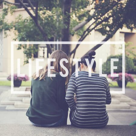 way of life: Lifestyle Way of Life Passion Habits Behavior Concept