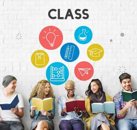 skills diversity: Wisdom Learning Knowledge Class Study Concept