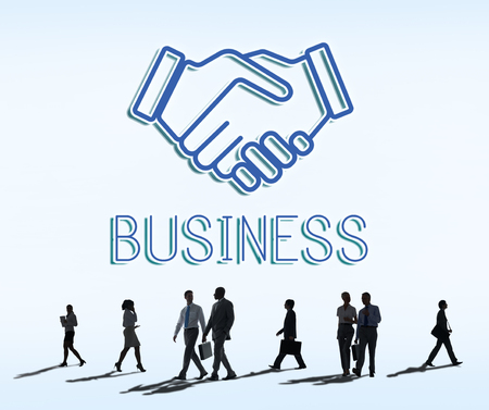 Partnership Agreement Cooperation Collaboartion Concept Stock Photo ...