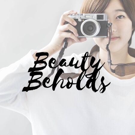 Beauty Appeal Attraction Charm Pretty Trends Concept Stock Photo