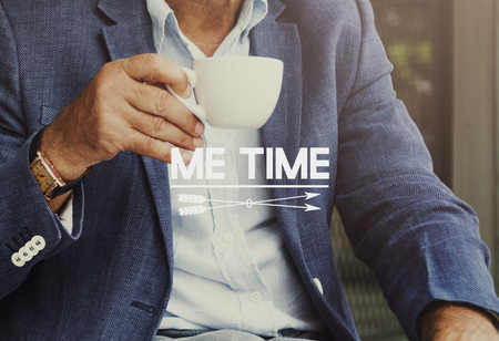 Me time concept Stock Photo