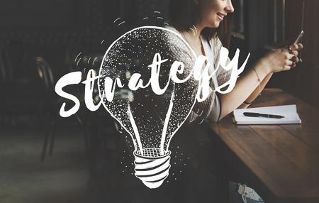 creative idea: Idea Brainstorm Creative Planning Success Concept Stock Photo