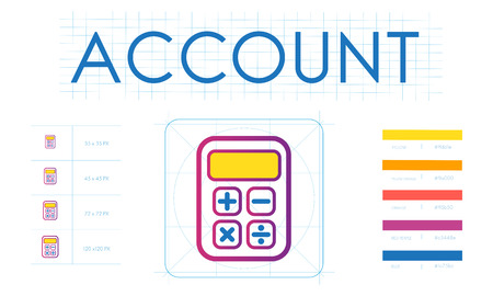 cost savings: Saving Trade Account Commerce Concept