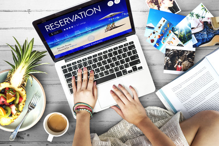 exclusive photo: Reservation Service Leisure Fine Booking Seating Concept Stock Photo