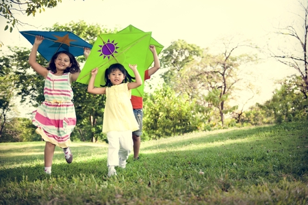 children play area: Kite Kid Child Casual Cheerful Leisure Outdoors Concept