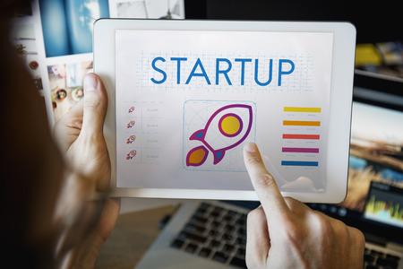entrepreneurship: Startup Business Entrepreneurship Launch Concept