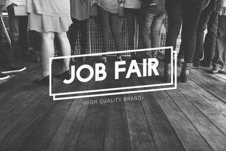 diaspora: Diaspora Initation Job Fair People Team Concept Stock Photo