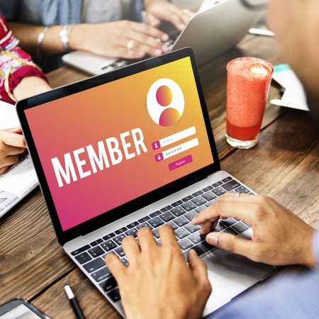 Member Sign In User Password Privacy Concept