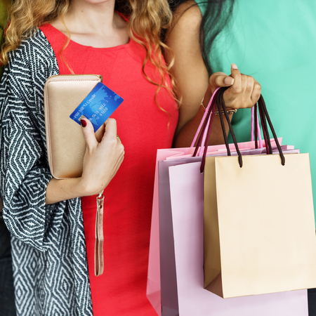 consumerism: Shopping Consumerism Merchandize Networking Concept