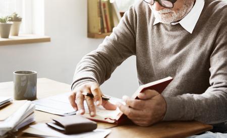 testament schreiben: Writer Offcial Person Letter Document Paperwork Concept Lizenzfreie Bilder
