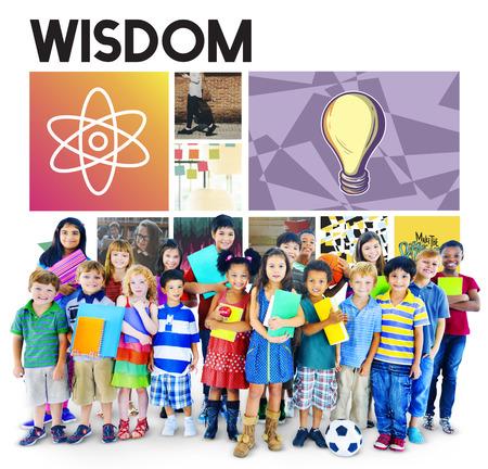 Acedemic Conocimiento Aprender Alfabetismo concepto gráfico