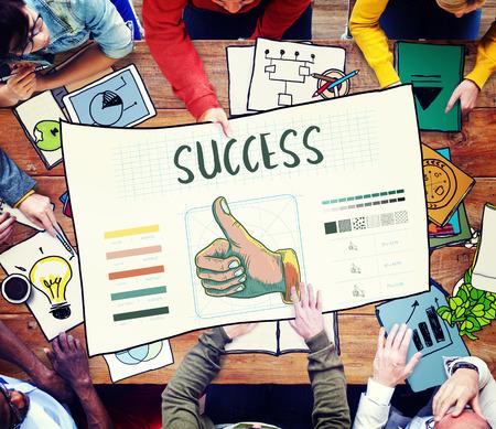 thumps up: Branding Design Practice Success Creative Concept Stock Photo