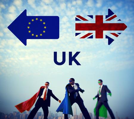 Brexit Britain Leave European Union Quit Referendum Concept Stock Photo
