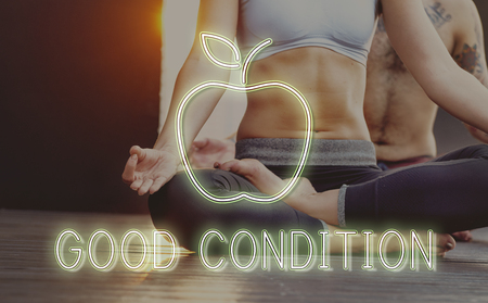 Good condition concept with background