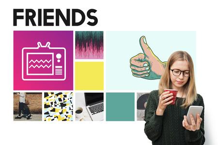 trato amable: Friends Community Connection Partnership Unity Concept