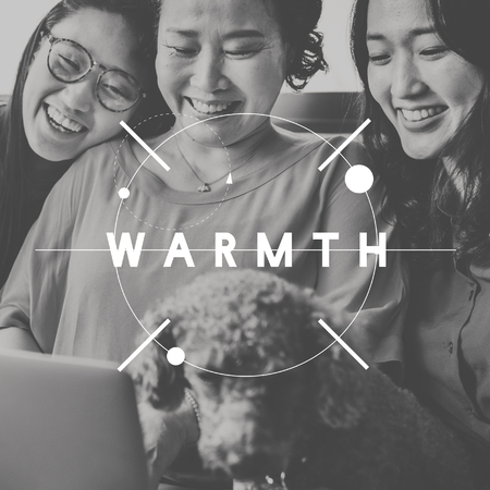 warmth: Warmth Togetherness Bonding Relationship Family Concept Stock Photo