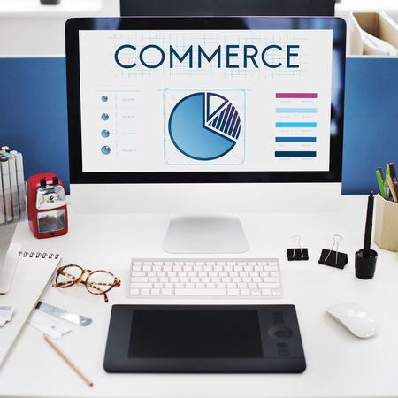 Monitor with commerce graphs