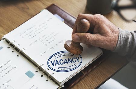 vacancy: Vacancy Career Search Hotel Employment Work Concept