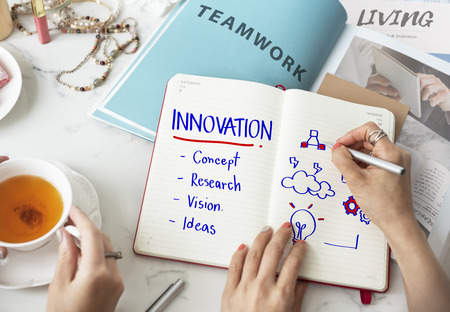 creativity: Innovation Creativity Simplicity Style Design Concept Stock Photo
