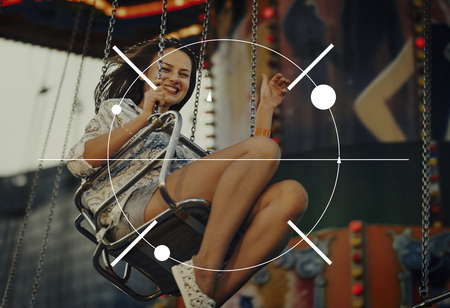 determine: Clarity Concentration Determine Focusing Target Concept Stock Photo