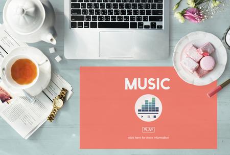 Music Melody Rhythm Instruments Vocal Sound Concept