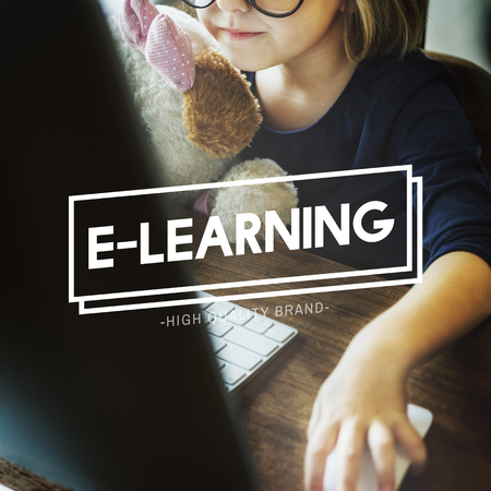 geeky: E-learning Education Technology Studying Concept