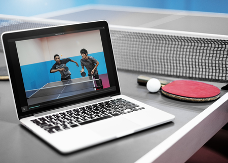 ping pong: Table Tennis Ping Pong Replay Athlete Amateur Concept