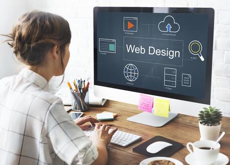 html: Web Page Webinar HTML Browser Concept