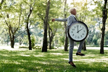 punctual: Alarma de reloj de temporización Lista Puntual de concepto del tiempo Foto de archivo