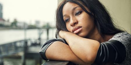 depressive: Depressive Disappionted Separation Pain Girl Concept