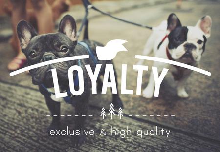 Loyalty Honest Devotion Respect Sincerity Trust Concept