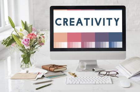 Erstellen Idee Kreativität Design Concept Standard-Bild - 63534985