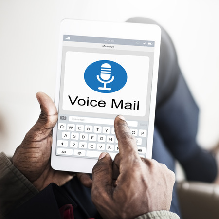 notification: Voice Mail Message Notification Communication Concept