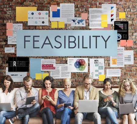 Feasibility Reasonable Potential Useful Concept Stock Photo