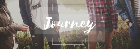 excursion: Journey Excursion Exploration Travel Trek Trip Concept