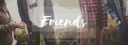 compañerismo: Amigos Comunidad Compañerismo Concepto del lazo